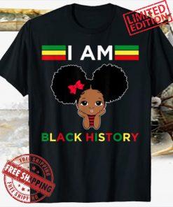Strong African Queen girls - Black History Month T-Shirt
