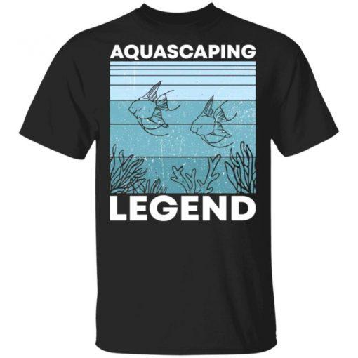 Aquascaping Legend Unisex Shirt