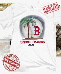 Boston Red Sox baseball MLB Spring Training 2021 Shirt