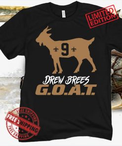Drew Brees Goat New Orleans Saints 2021 Shirt
