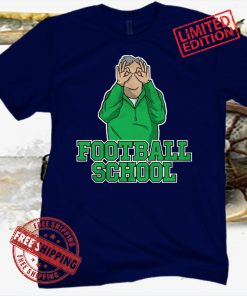 FOOTBALL SCHOOL GREEN TEE SHIRT