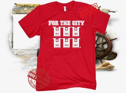 For The City 2021 T-Shirt - Houston, Texas Basketball