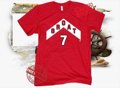GROAT 7 Shirt Canadian Greatness
