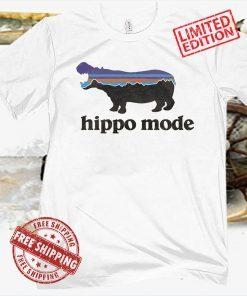 HIPPO MODE VINTAGE T SHIRT
