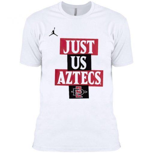 Jordan Youth San Diego State Aztecs Just Us' Bench T-Shirt