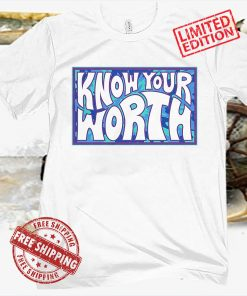 Know Your Worth Women's Sports T-Shirt