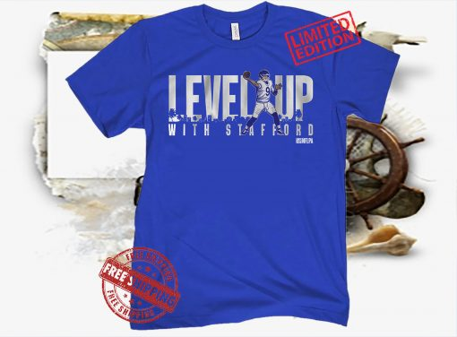 LEVEL UP WITH STAFFORD T-SHIRT MATTHEW STAFFORD