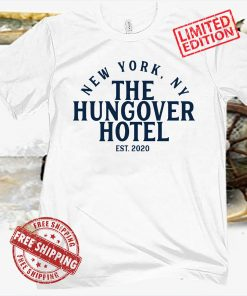 NEW YORK HUNGOVER HOTE TEE SHIRT