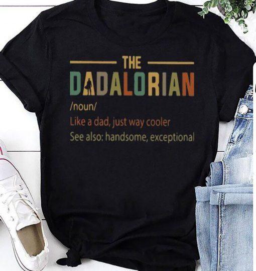 Non Dad 2021 The Dadalorian Star Wars Shirt
