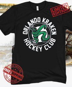 ORLANDO KRAKEN HOCKEY CLUB LOGO T-SHIRT