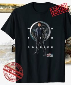Poster Marvel The Falcon And The Winter Soldier Bucky Shield Shirt