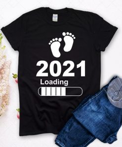 Pregnancy 2021 Shirt, Maternity tees, Pregnancy announcement, Mom Family shirts
