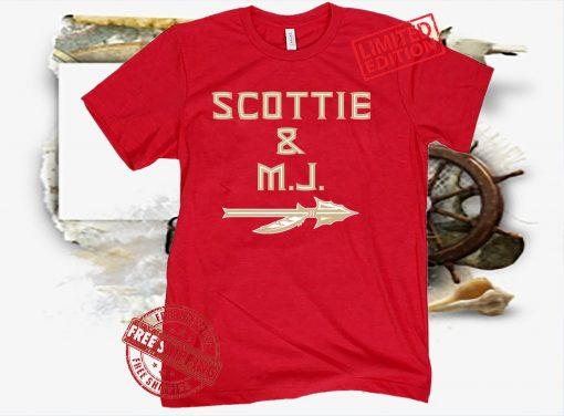 SCOTTIE And MJ TEE SHIRT