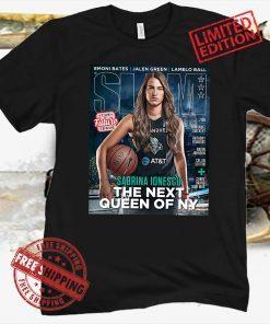 SLAM Sabrina Ionescu - April - May 2021 Official T-Shirt