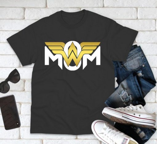 Super Hero Shirt, Super Mom Shirt,Mother's Day Shirt, Wonder Woman, Best Mom In The World, Mom Gift Shirt