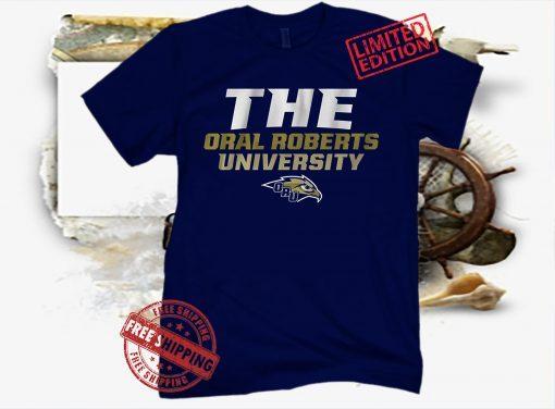 THE ORAL ROBERTS UNIVERSITY ORU T-SHIRT