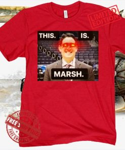 THIS IS MARSH POSTERS SHIRT