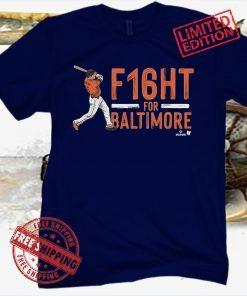 Trey Mancini F16HT For Baltimore Tee Shirt