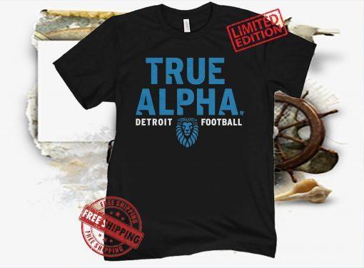 True Alpha T-Shirt - Detroit Football