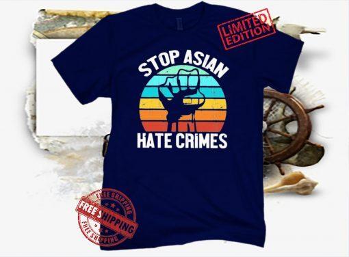 Vintage AAPI Stop Asian Hate Crimes Shirt