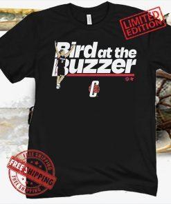 UCONN: BIRD AT THE BUZZER BASKETBALL OFFICIAL T-SHIRT