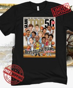BUNDLE '96 DRAFT & TOP 50: The Best College Teams Of All Time Shirt