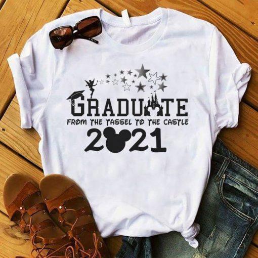 2021 Disney Graduation Shirt, Graduate Disney Shirt, 2021 Grad Shirt, Class of 2021 Shirt