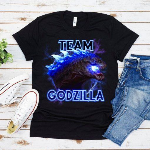 2021 Team Godzilla Official T-Shirt 2021, Godzilla VS Kong, Kaiju Godzilla Kong Rodan Mothra Monster Monarch, Gift For Men, Inspired TShirt