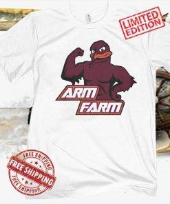 ARM FARM T-SHIRT - VIRGINIA TECH HOKIES FOOTBALL