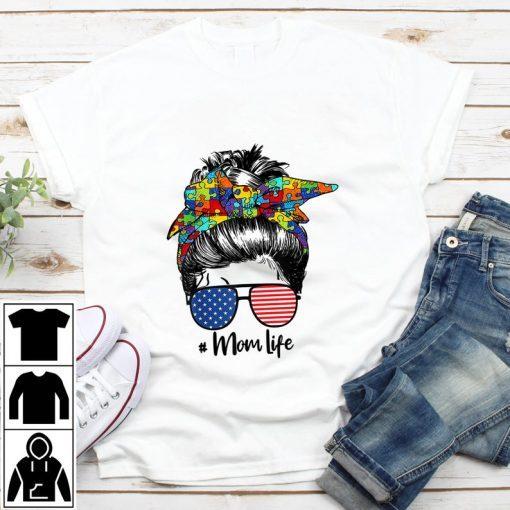 Autism Awareness Mom Life Shirt Women Mothers Day 2021 Tee Shirt