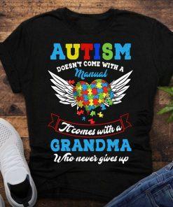 Autism Grandma shirt, Autism awareness 2021, Autism Grandma gift, shirts for grandma, mothers day shirt