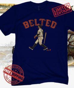 Brandon Belt BELTed T-Shirt S.F. - MLBPA Licensed