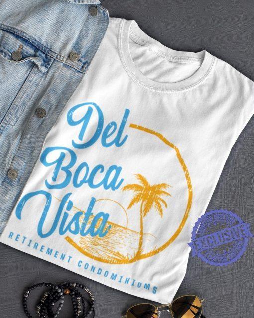 Del boca vista retirement condominiums shirt t-shirt