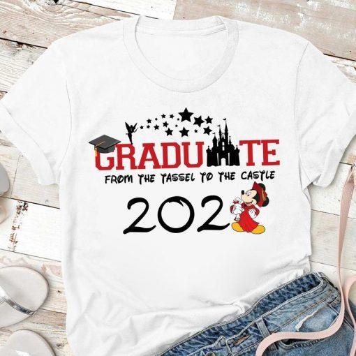 Disney From Tassel to the Castle Graduation shirt, 2021 Disney Graduation Shirt, Graduate Disney Shirt, 2021 Grad Shirt, Class of 2021 Shirt
