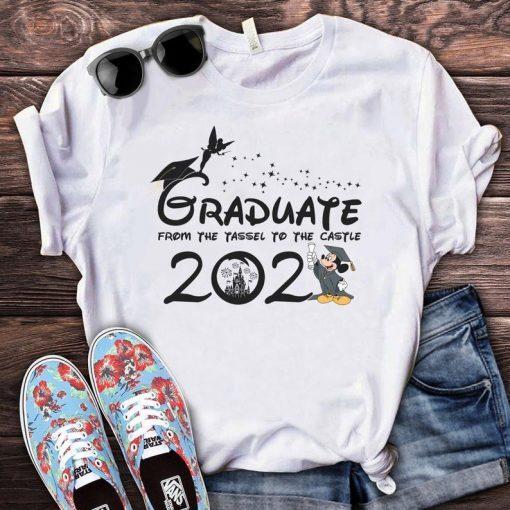 Disney From Tassel to the Castle Graduation shirt, 2021 Disney Graduation Shirt, Graduation Mickey Shirt, 2021 Grad Shirt, Class of 2021 Tee