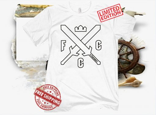 FC CINCINNATI SWORDS AND CROWNS WHITE SHIRT