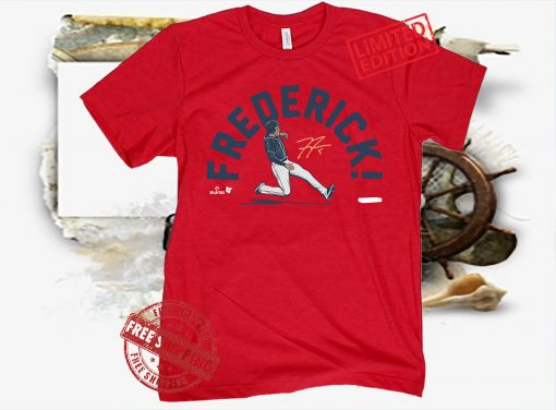 Freddie! Shirt Atlanta, MLBPA Licensed
