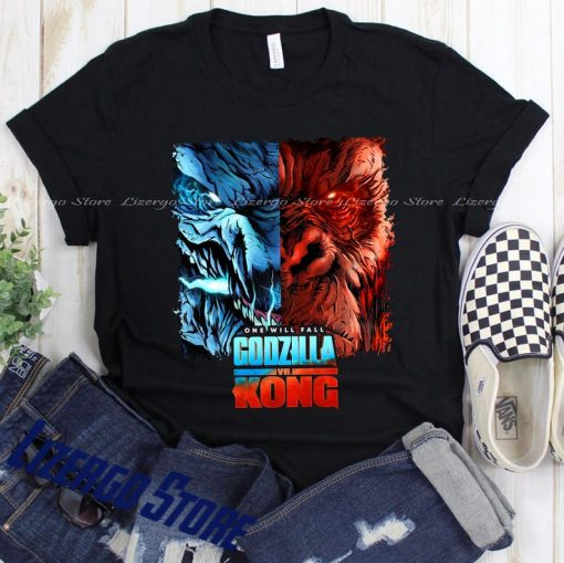 Godzilla VS Kong Movie Shirt, Godzilla Shirt, King Kong Shirt