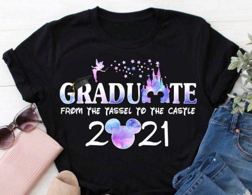 Graduation shirt, 2021 Disney Graduation Shirt, Graduate Disney Shirt, 2021 Grad Shirt, Class of 2021 Shirt