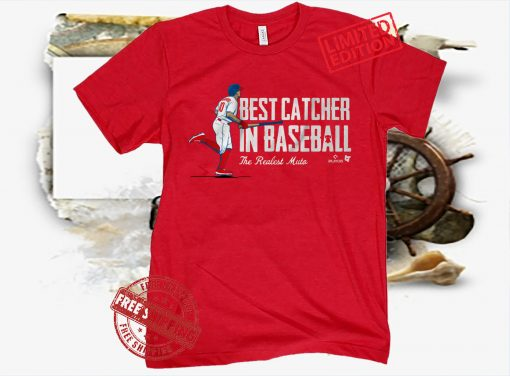 J.T. Realmuto Best Catcher In T-Shirt Baseball Philly