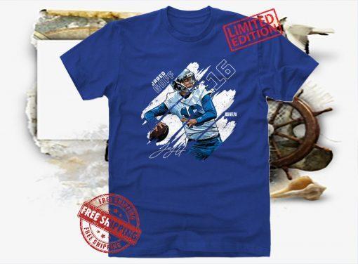 Jared Goff Stripes Shirt Detroit Football