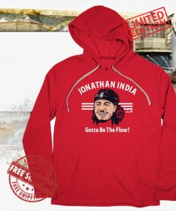 Jonathan India Gotta Be the Flow Apparel T-Shirt - MLBPA Licensed