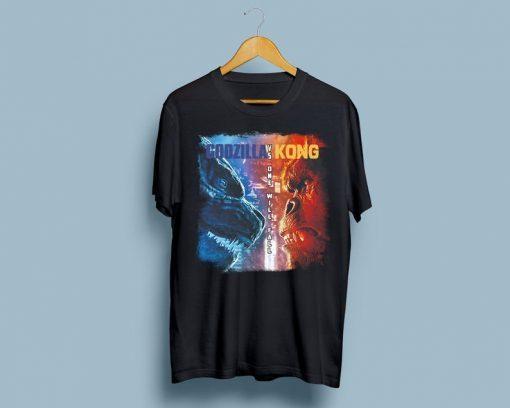 King Kong vs Godzilla Shirts, King Kong vs Godzilla T-Shirts King Kong Shirt, Kaiju Godzilla Kong Shirt