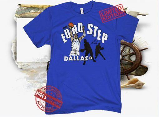 Luka Doncic 'The Euro Step' Tee Shirt