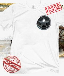Marvel The Falcon And The Winter Soldier Bucky Shield Badge Logo Shirt