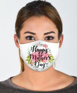 Mothers Day Gift - Mom Gift, Mom Face Mask. Mothers Day Gift from Son, Happy Mother's Day Mask with Filter and Nose Wire
