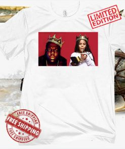 Notorious B.I.G. Crown 1997 vs Blue Ivy Carter Crown 2021 Shirt