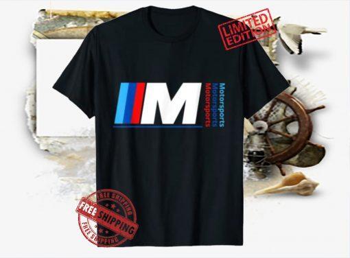 OFFICIAL B.M.W. M- Motorsports Shirt
