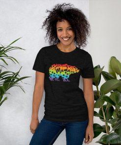 Rainbow Mama Bear 2021 Shirt, 2021 Mom TShirt, 2021 Mothers Day TShirt, LGBT Tee, Mom Life, LGBTQ
