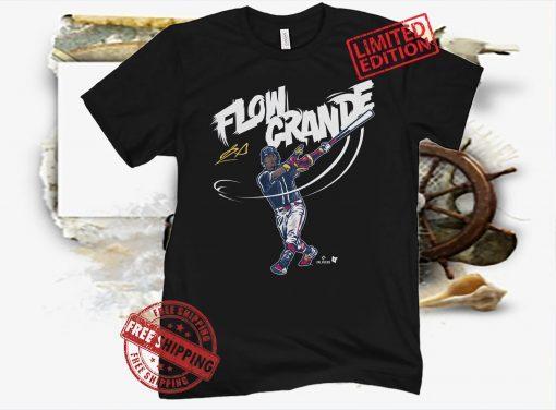 Ronald Acuña Flow Grande Baseball T-shirt